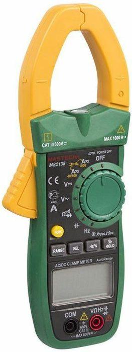 Клещи токовые Mastech MS2138 клещи токовые mastech ms2030