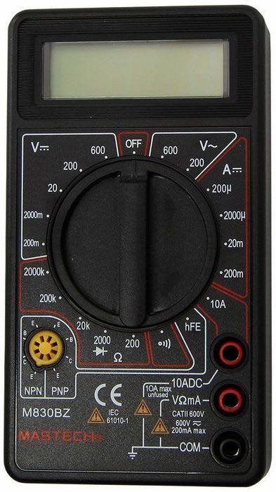 Мультиметр портативный Mastech M830BZ