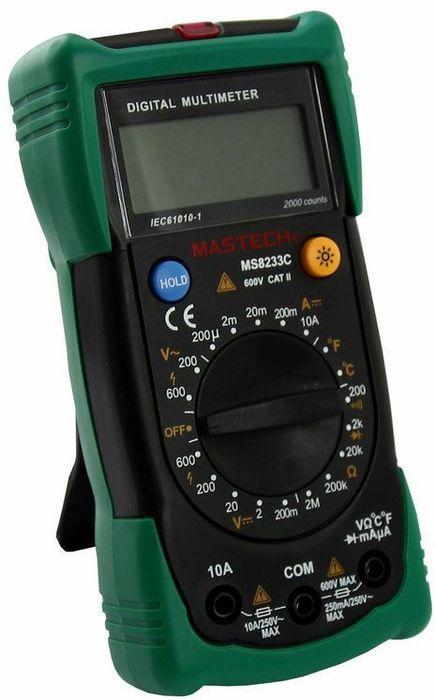 Мультиметр универсальный Mastech MS8233C