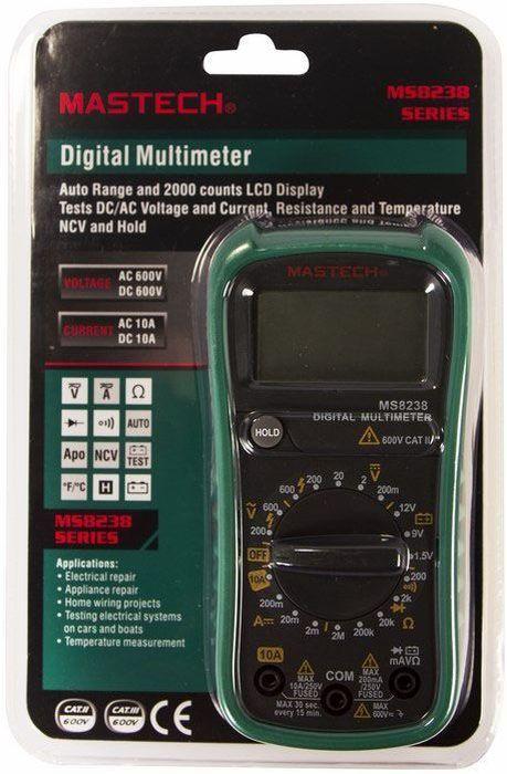 Мультиметр универсальный Mastech MS8238