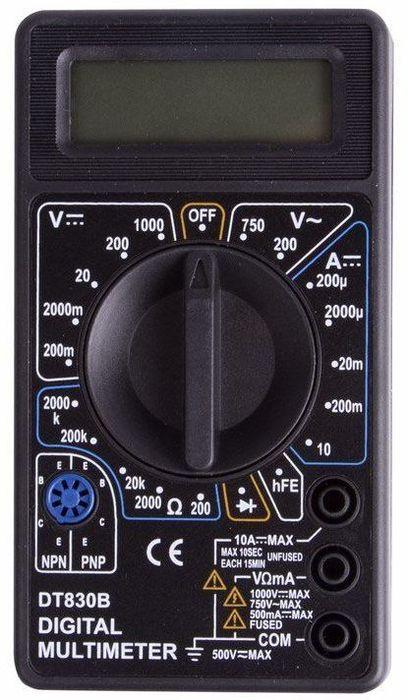 Портативный мультиметр PROconnect M830B(DT830B) цена
