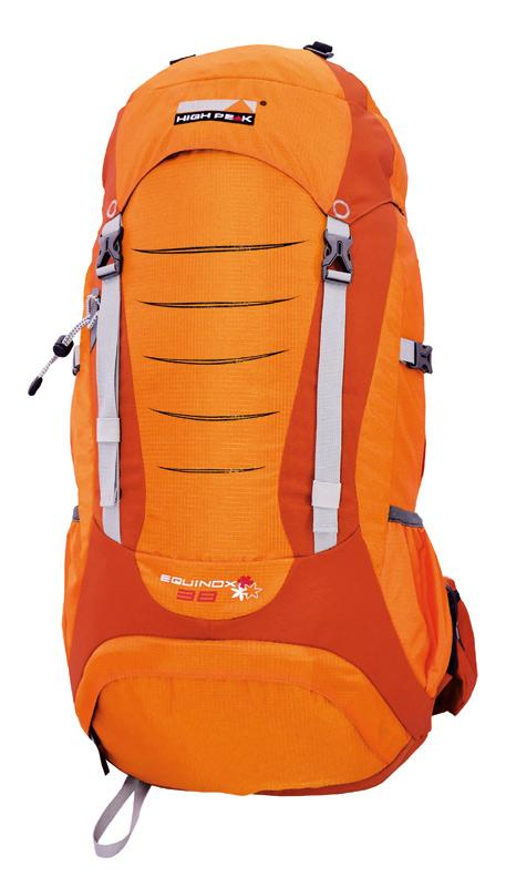 Рюкзак туристический High Peak Equinox, цвет: оранжевый, 38 л