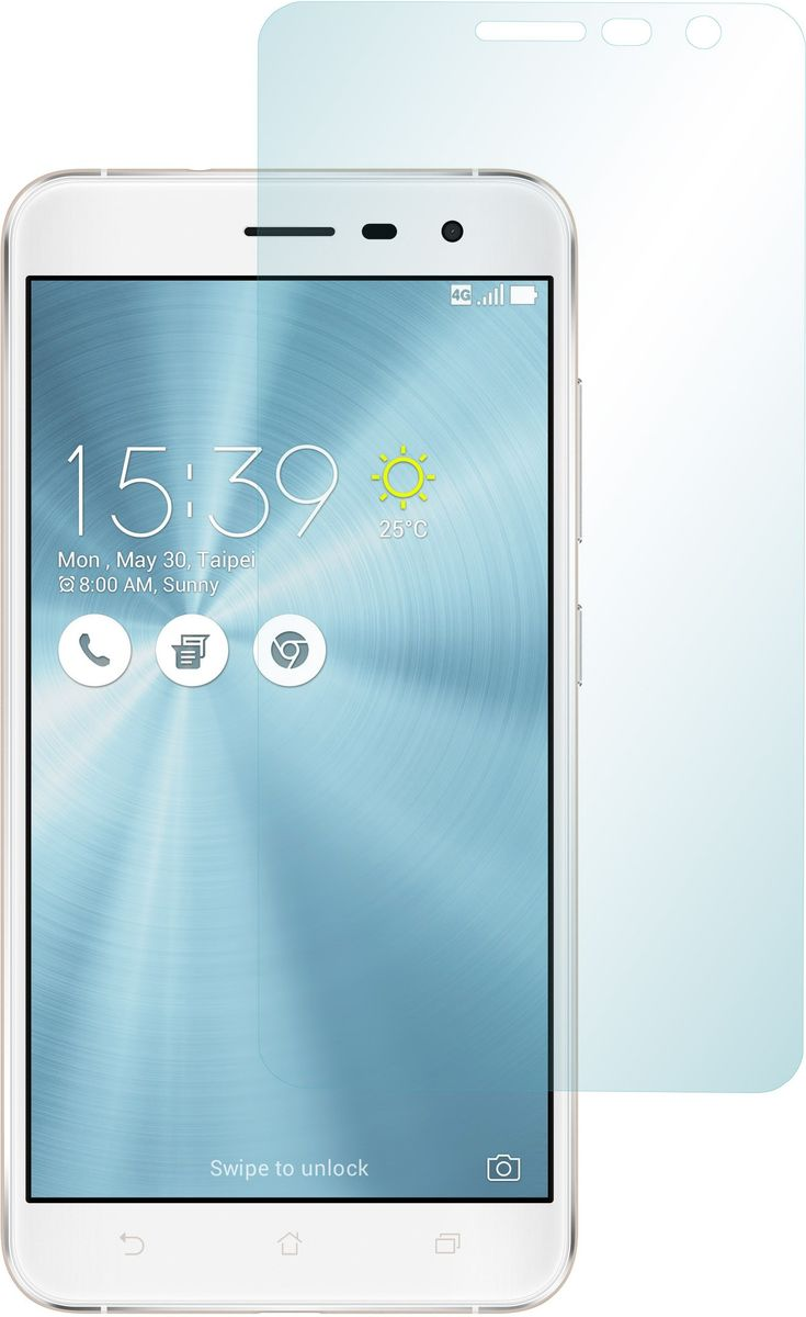 Skinbox защитное стекло для ASUS ZenFone 3 (ZE552KL), глянцевое цена