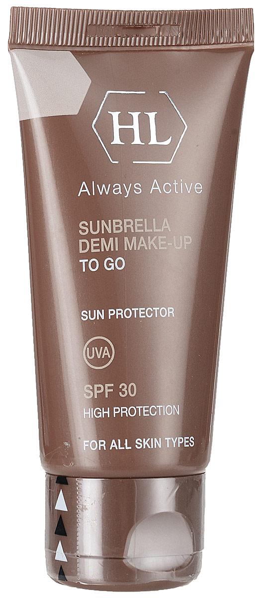 Holy Land Солнцезащитный крем с тоном Sunbrella Demi Make-Up 50 мл holy land интернет магазин москва