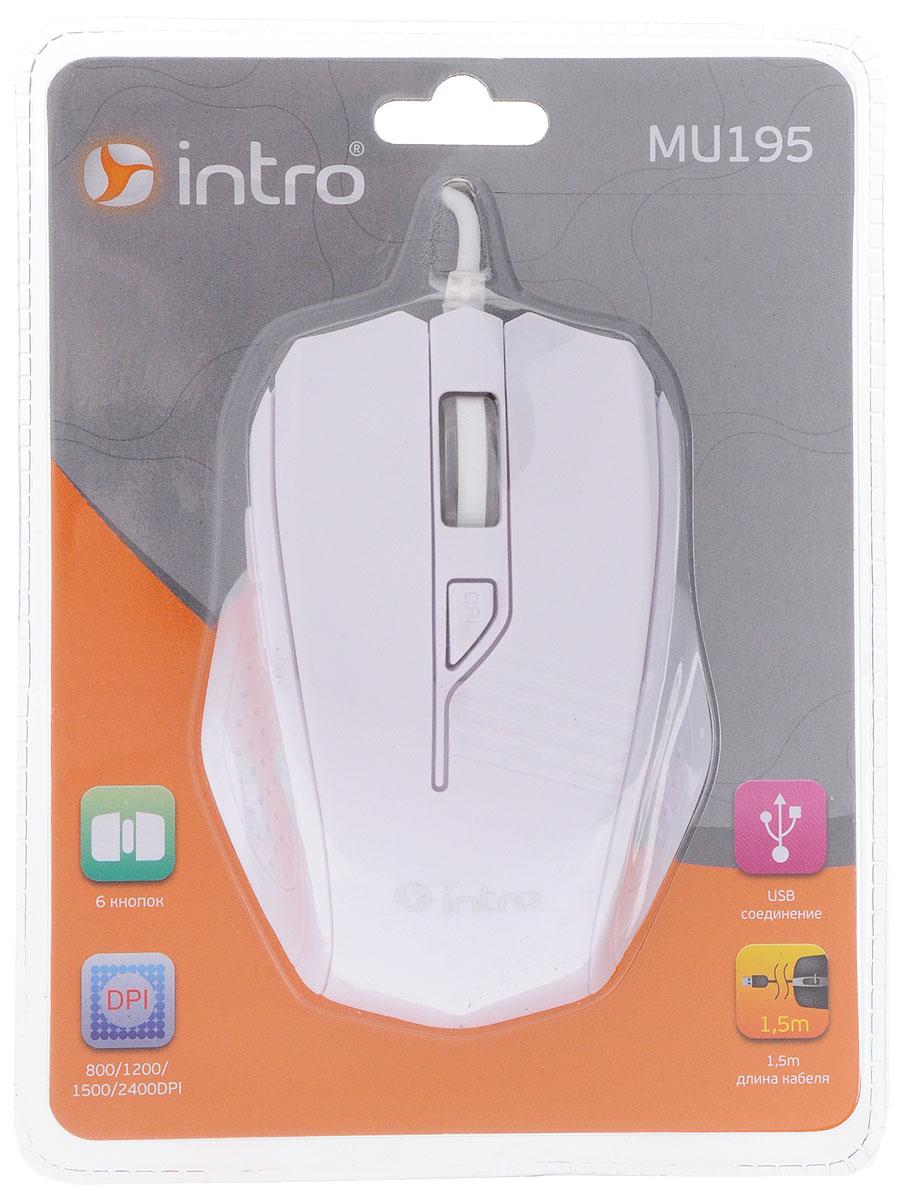 Мышь Intro MU195, White