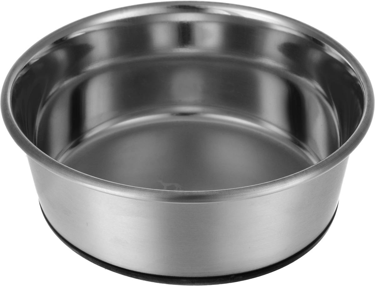 купить Миска Hunter, из нержавеющей стали, 1.1 л, диаметр: 17 см по цене 648 рублей