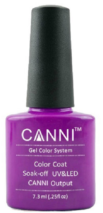 Canni Гель-лак для ногтей Colors, тон №20, 7,3 мл canni гель лак для ногтей colors тон 129 7 3 мл