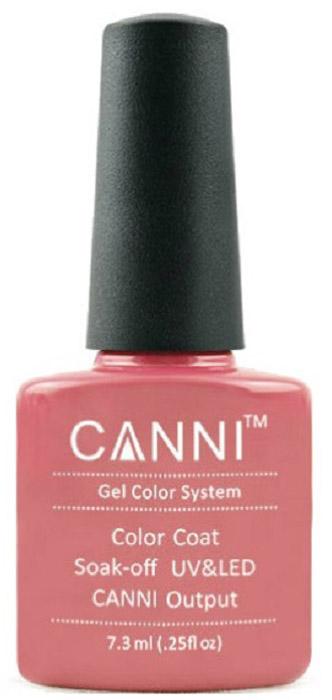 Canni Гель-лак для ногтей Colors, тон №43, 7,3 мл canni гель лак для ногтей colors тон 129 7 3 мл