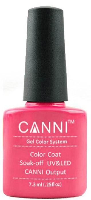 Canni Гель-лак для ногтей Colors, тон №50, 7,3 мл canni гель лак для ногтей colors тон 129 7 3 мл