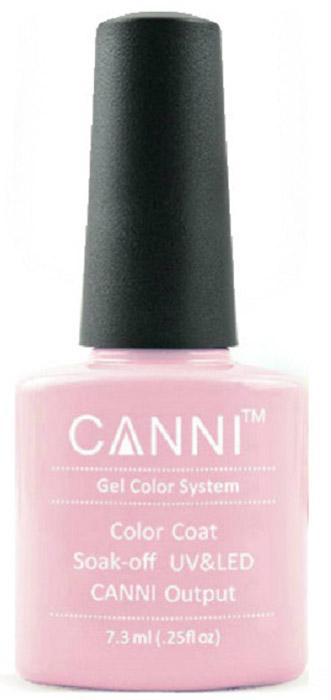 Canni Гель-лак для ногтей Colors, тон №65, 7,3 мл canni гель лак для ногтей colors тон 129 7 3 мл