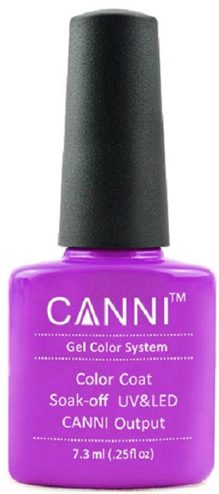 Canni Гель-лак для ногтей Colors, тон №86, 7,3 мл canni гель лак для ногтей colors тон 129 7 3 мл