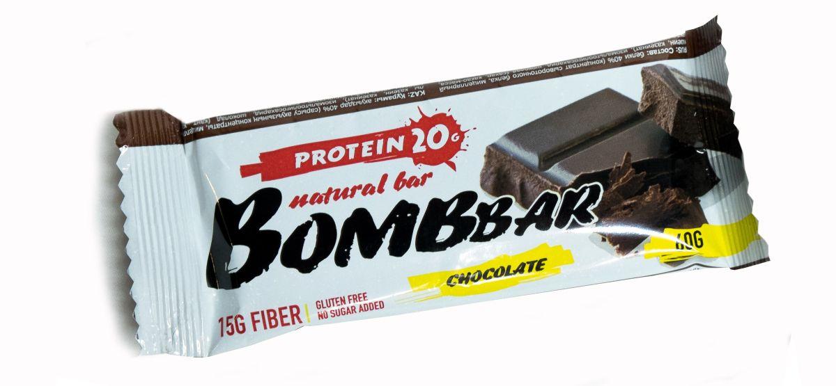 Батончик протеиновый BOMBBAR, шоколад, 60 г