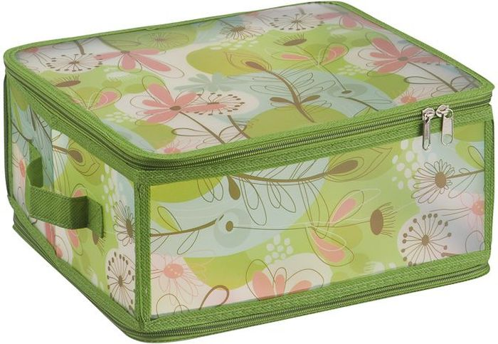 Короб для хранения Handy Home Весна, складной, 30 х 28 х 15 см короб для хранения обуви handy homeроза 4 секции 94 х 60 х 15 см