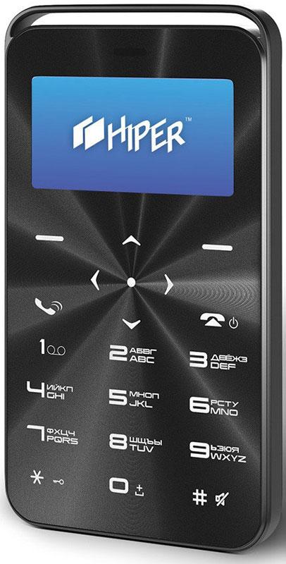 Мобильный телефон HIPER sPhone Vinil, черный мобильный телефон hiper sphone vinyl black