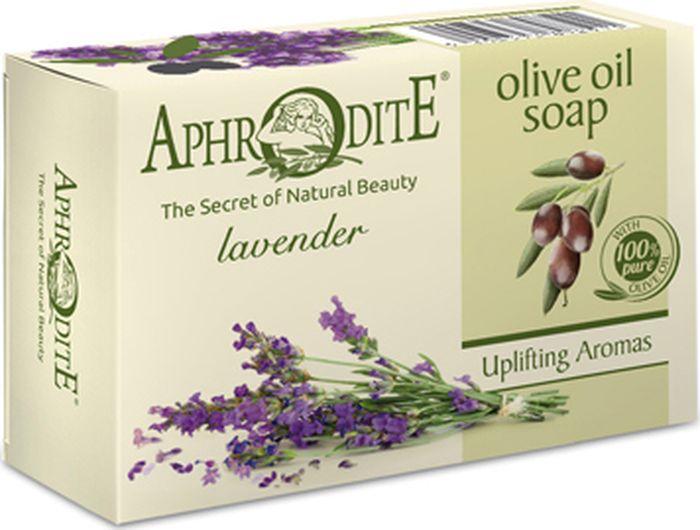 Мыло оливковое с лавандой Aphrodite, 100 гр мыло увлажняющее с папайей и гиалуроновой кислотой mi ri ne 100 гр