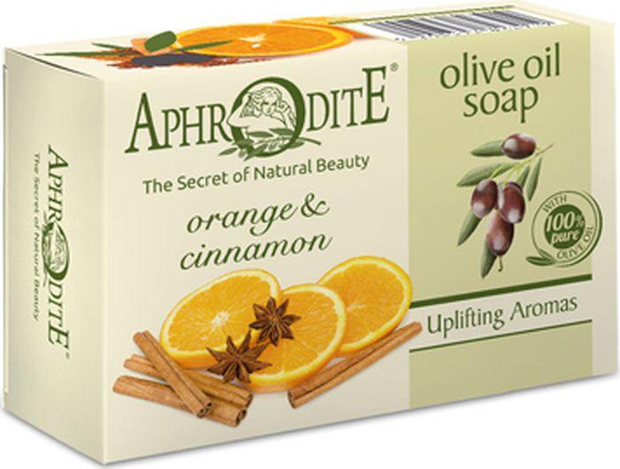 купить Мыло оливковое с апельсином и корицей Aphrodite, 100 гр недорого