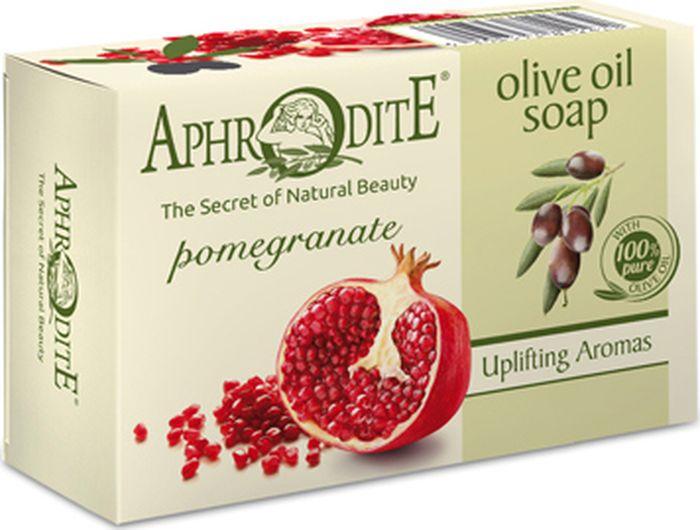 Мыло оливковое с гранатом Aphrodite, 100 гр052300182Натуральное мыло на основе органического оливкового масла. Обладает всеми классическими достоинствами оливкового мыла. Благодаря экстракту граната имеет вяжущие и противовосполительные свойства, способствует усилению микроциркуляции в коже, повышению выработки коллагена и эластина. Рекомендовано для всех типов кожи и приимущественно для увядающей.