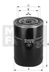 Масляный фильтр Mann-Filter W8013 wlring store universal 16 row an10 engine transmiss oil cooler kit filter relocation blue