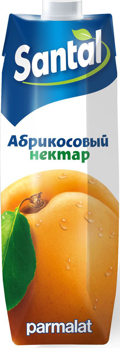 Santal Нектар Абрикосовый, 1 л