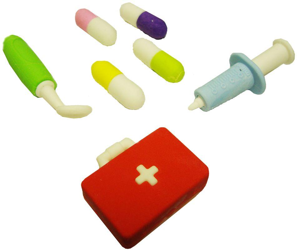 Карамба Ластик Набор доктора с чемоданом карамба ластик набор доктора с микроскопом