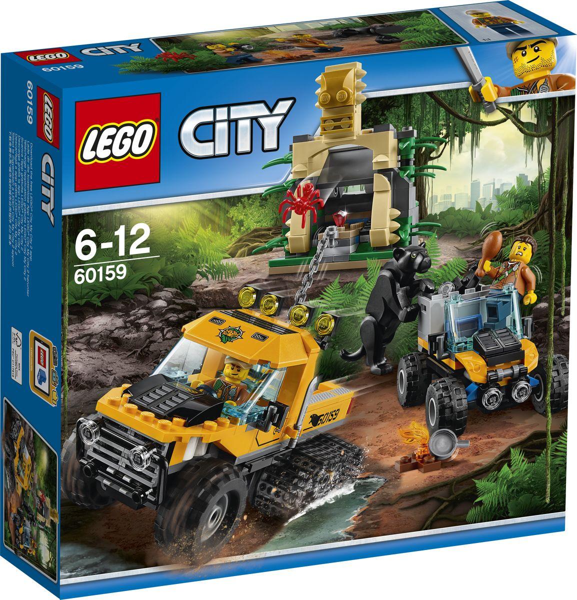 LEGO City Jungle Explorer 60159 Миссия Исследование джунглей Конструктор цена
