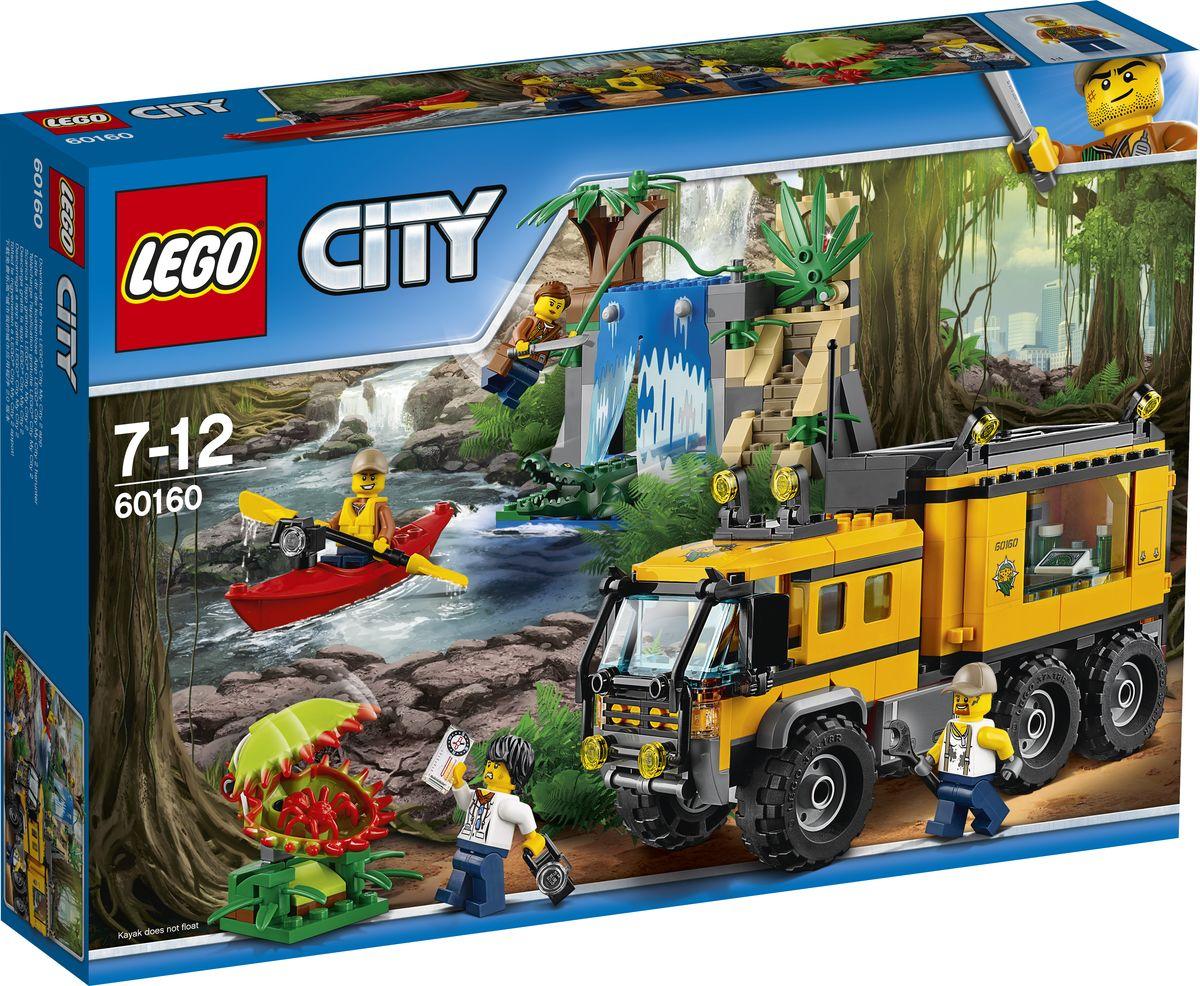 LEGO City Jungle Explorer 60160 Передвижная лаборатория в джунглях Конструктор цена