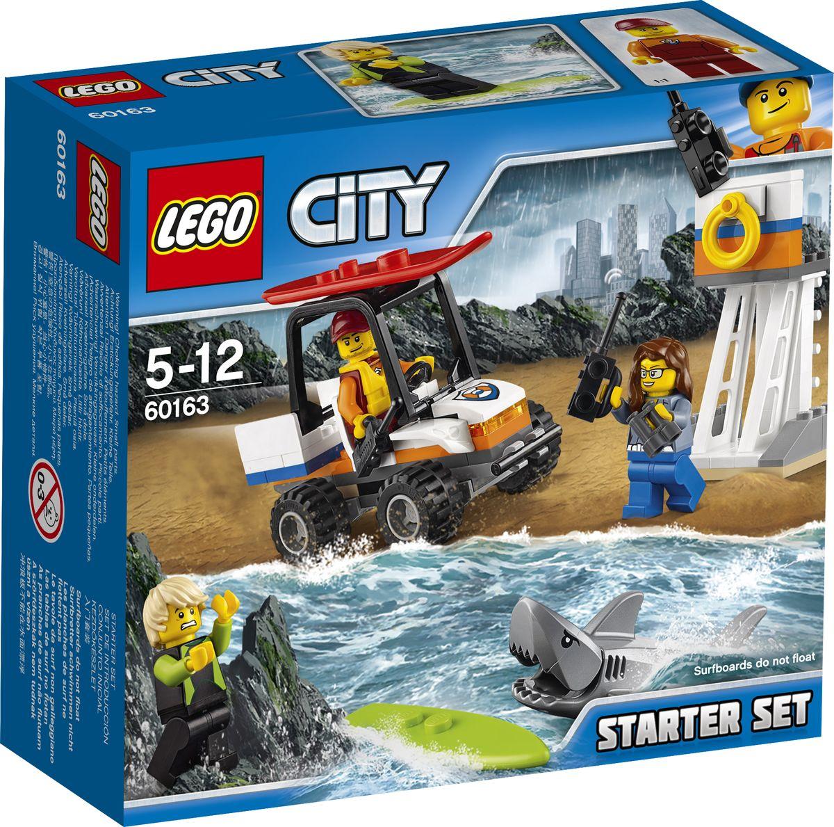 цена на LEGO City Coast Guard 60163 Набор для начинающих Береговая охрана Конструктор
