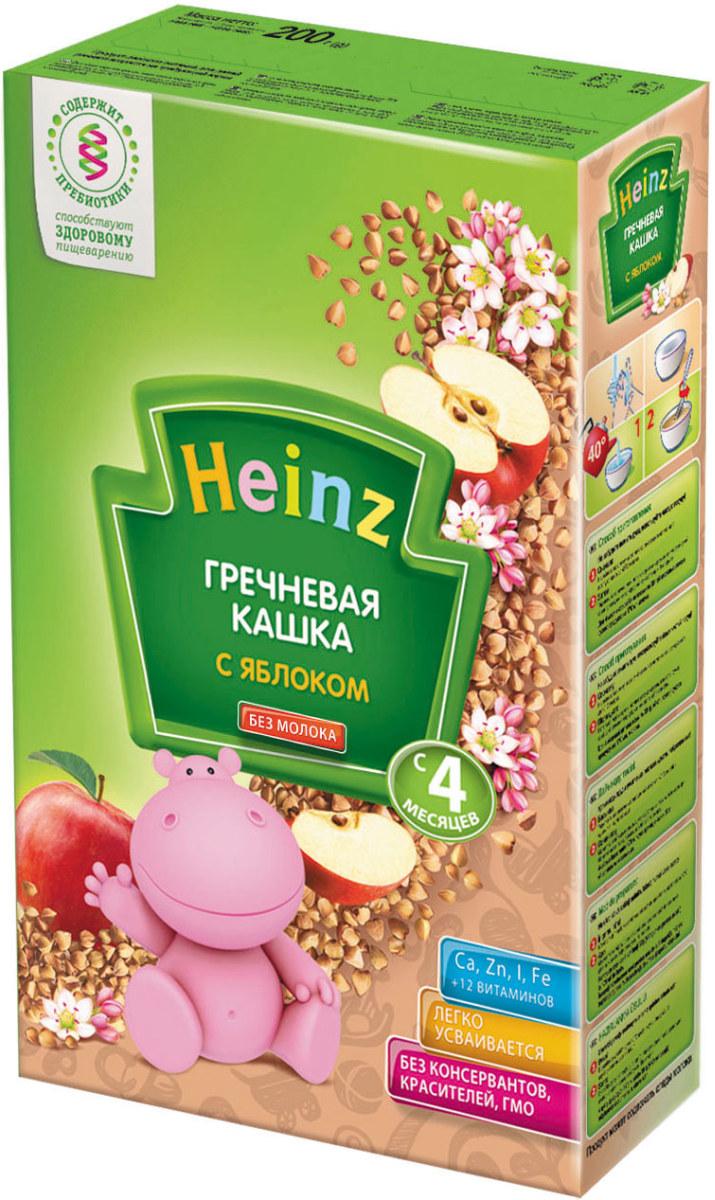 Heinz каша гречневая с яблоком, с 4 месяцев, 200 г79000263Для 4-месячного ребёнка возьмите 30 г (4 столовые ложки) сухого продукта на 170 мл воды. Налейте в тарелочку указанное количество вскипячённой и остуженной до 40°С воды. Тщательно перемешивая, всыпьте рекомендуемое количество сухой каши до получения однородной консистенции. Не варите. Продукт может содержать незначительное количество глютена и молока.