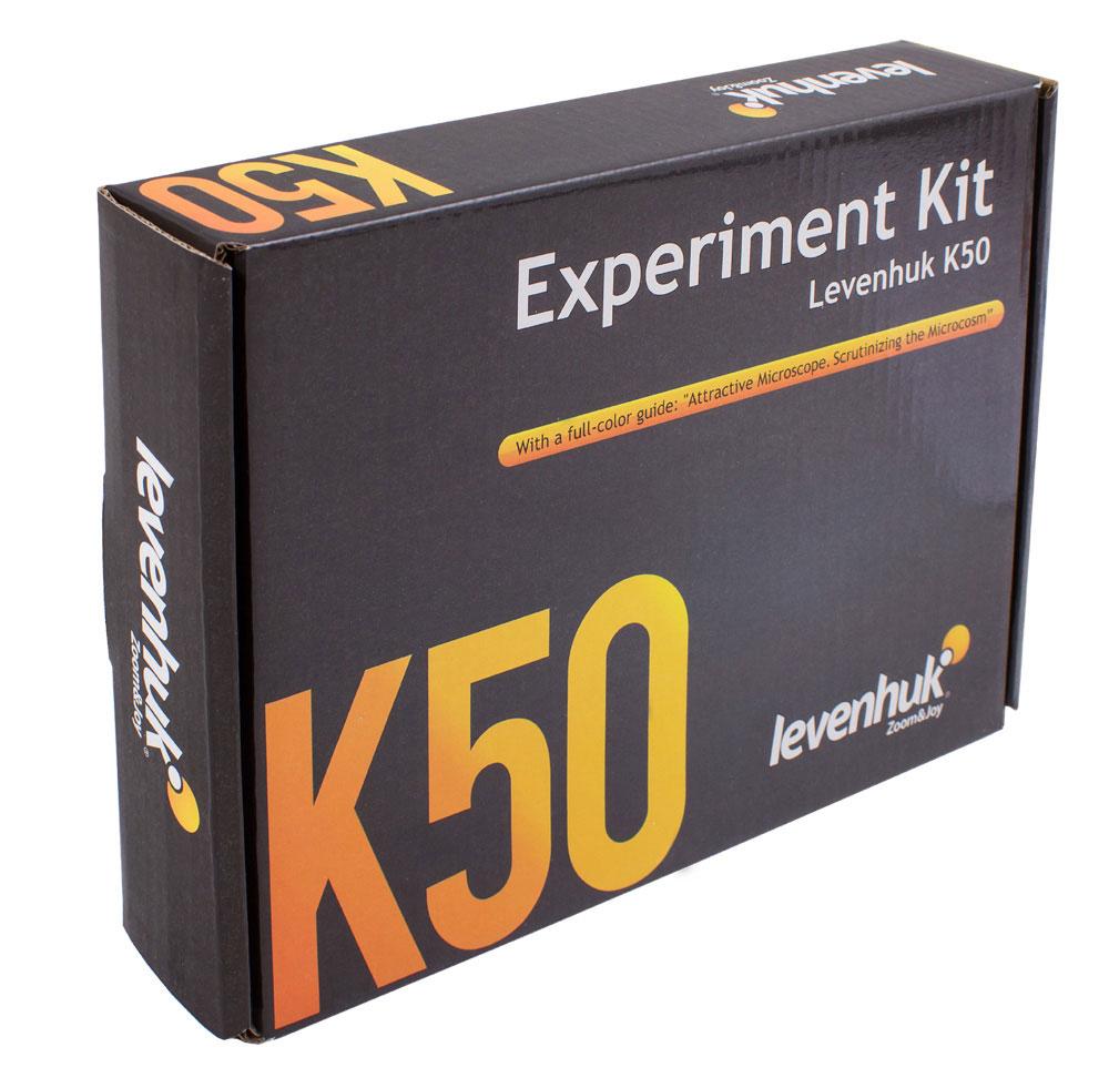 Levenhuk K50Набор для опытов с микроскопом Levenhuk