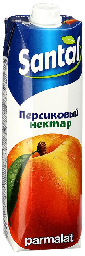 Santal Нектар Персиковый, 1 л менк персиковый нектар 1 л