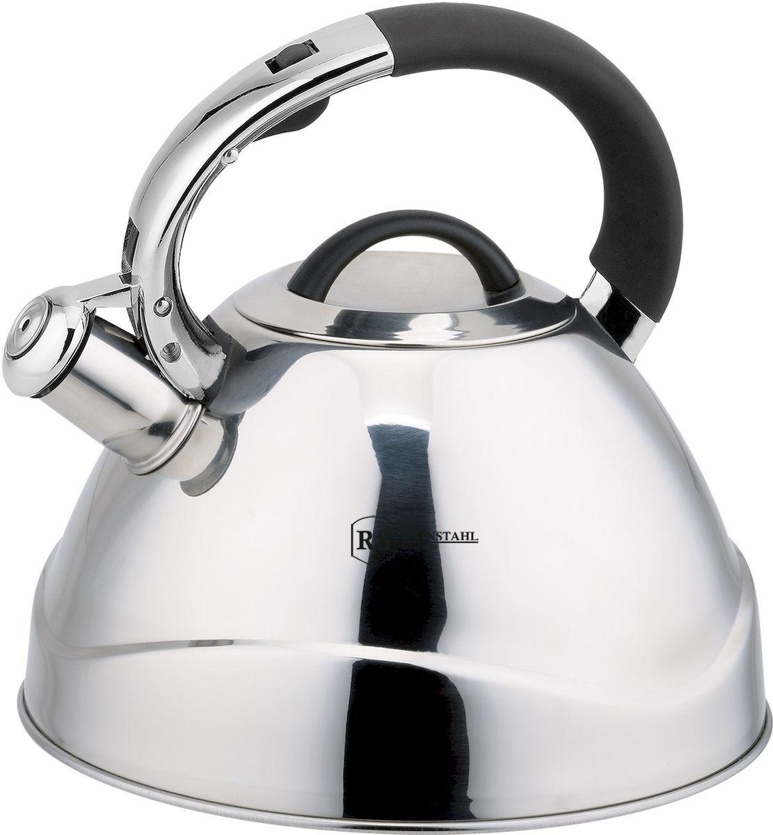 Чайник Rainstahl, со свистком, 3,5 л. 7619-35RS/WK чайник rainstahl со свистком цвет белый 2 7 л 7642 27rs wk