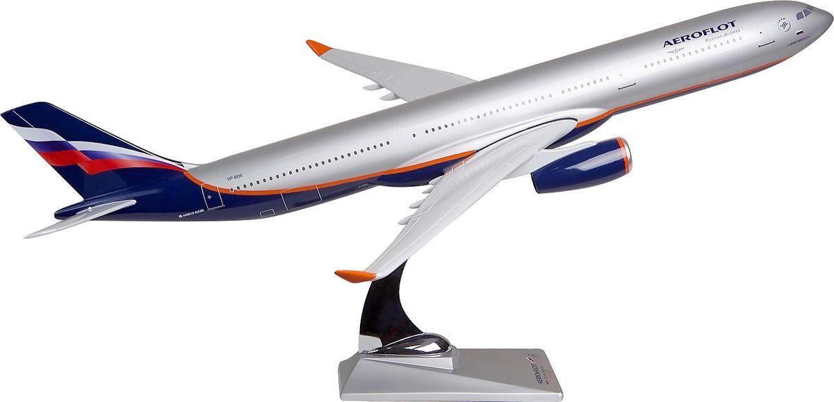 Модель самолета Аэрофлот Airbus А330-300, масштаб 1:100 авиабилеты аэрофлота