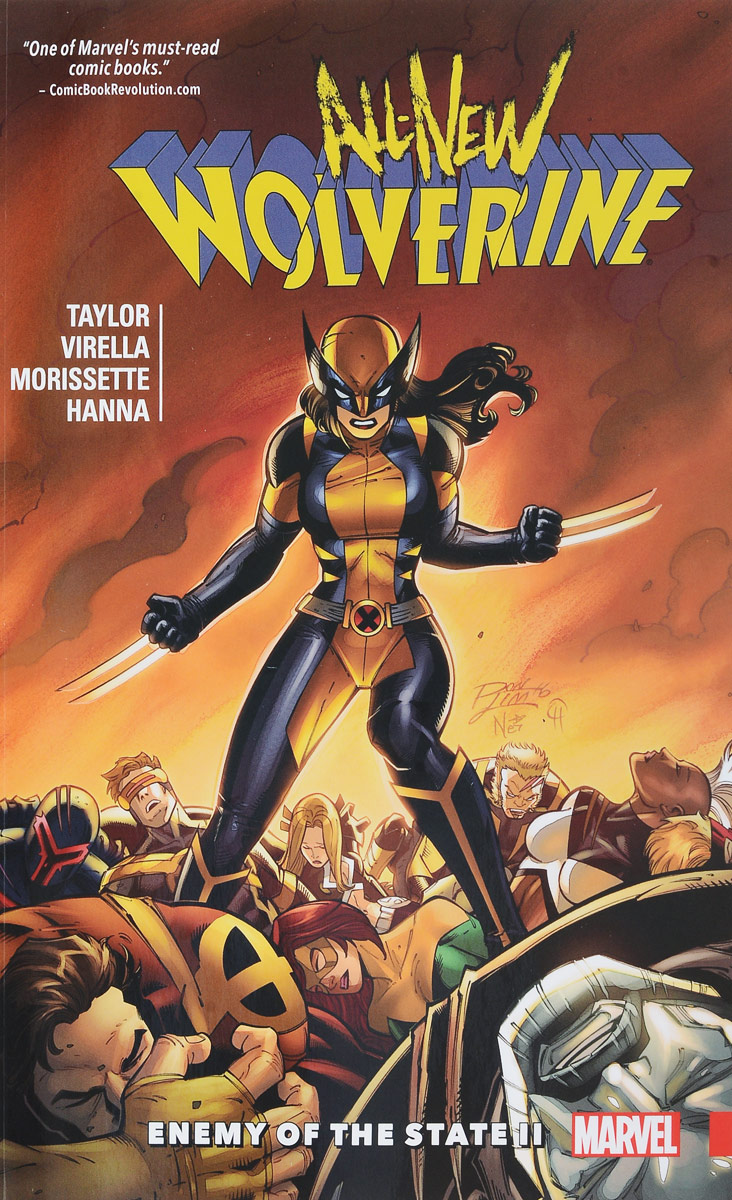 All-New Wolverine Vol. 3: Enemy of the State II wolverine and the x men