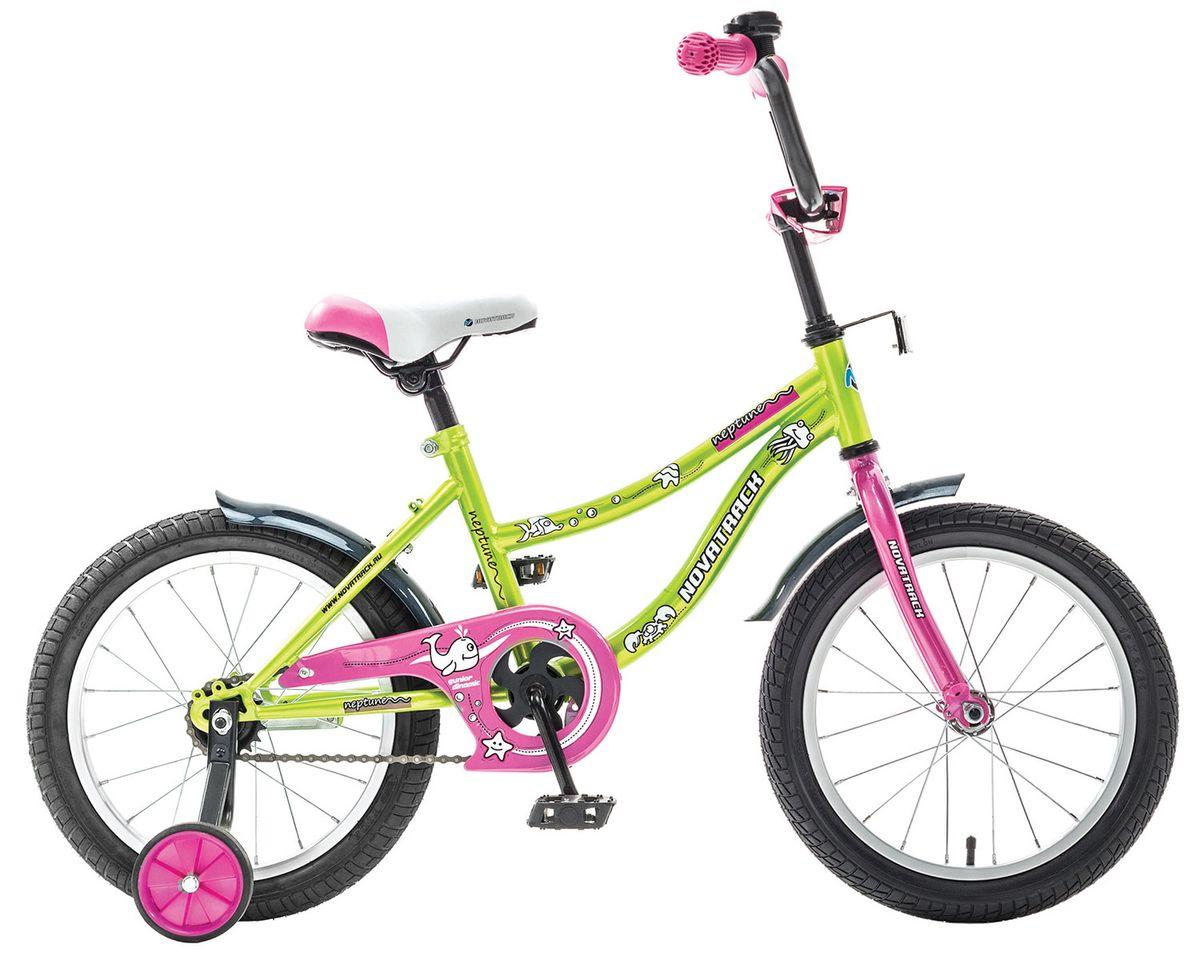 Велосипед детский Novatrack Neptune 16'''', цвет: светло-зеленый marvin rausand risk assessment theory methods and applications