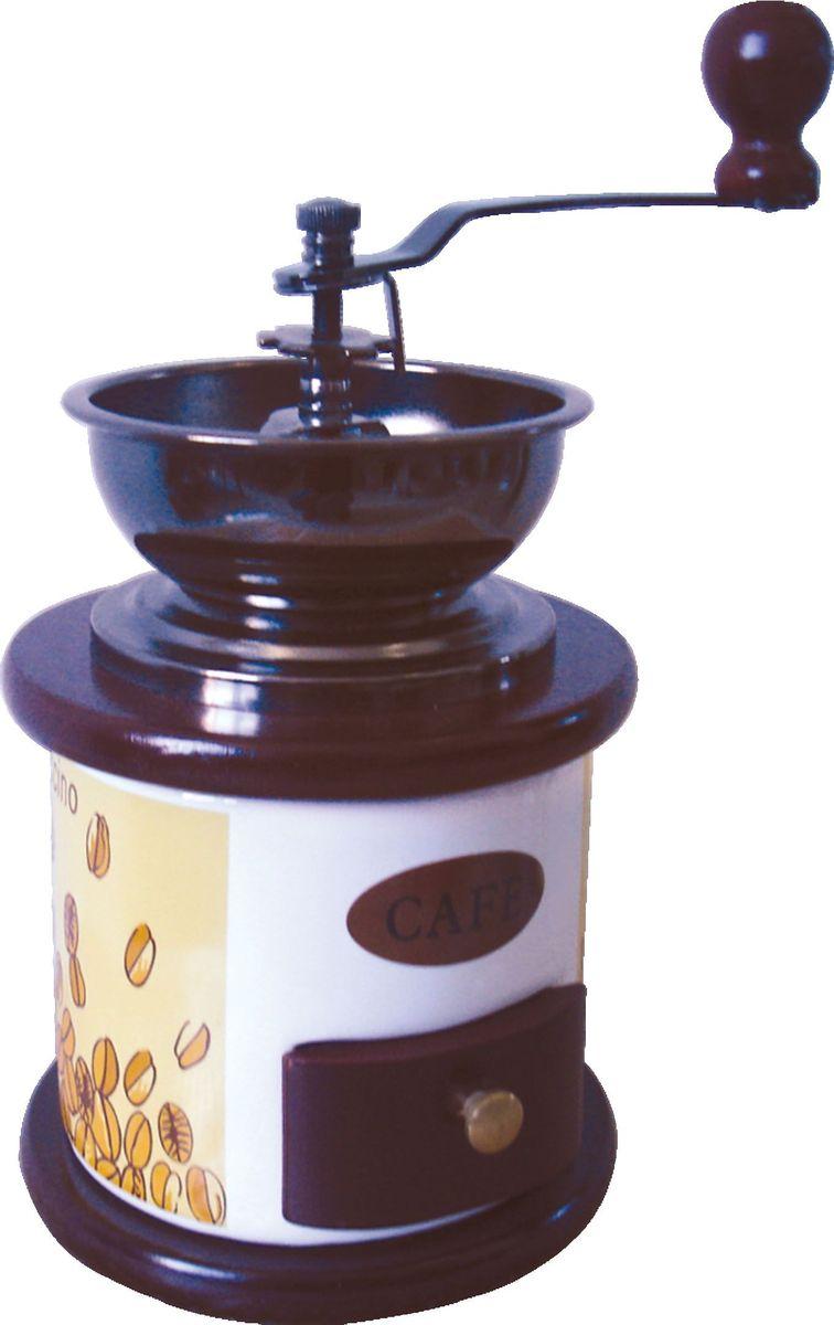 купить Кофемолка Bekker BK-2535, ручная дешево