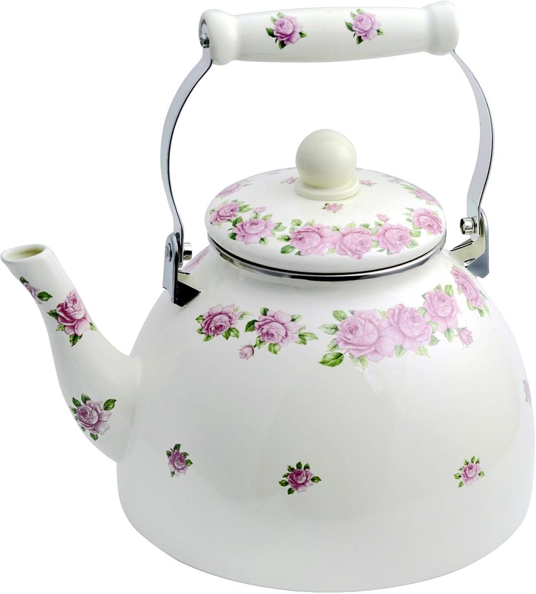 лучшая цена Чайник эмалированный Winner