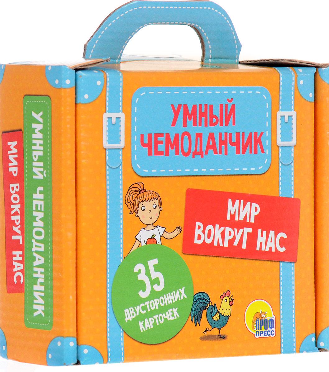 Фото - Проф-пресс Обучающие карточки Умный чемоданчик Мир вокруг нас айрис пресс набор карточек умный малыш транспорт