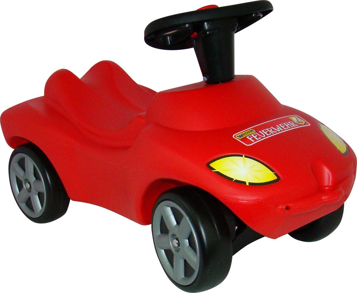 Фото - Полесье Автомобиль-каталка Пожарная команда 42255, цвет в ассортименте полесье набор игрушек для песочницы 468 цвет в ассортименте