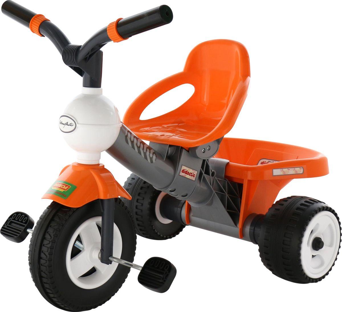 Велосипед трехколесный Полесье Дидактик № 3, цвет в ассортименте полесье велосипед трехколесный дидактик 46338
