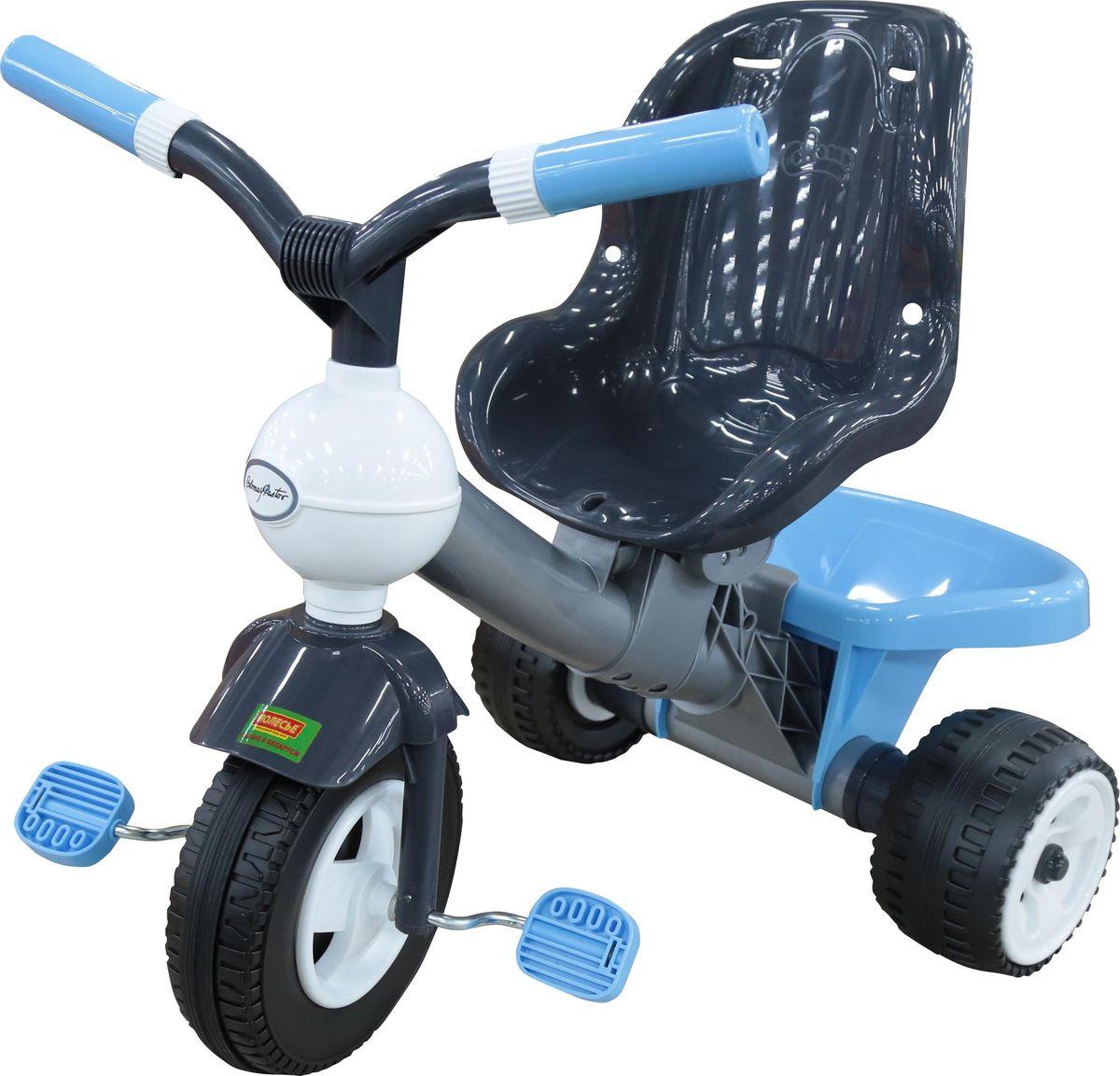 Полесье Велосипед трехколесный Амиго №3, 46444, цвет в ассортименте ролики амиго