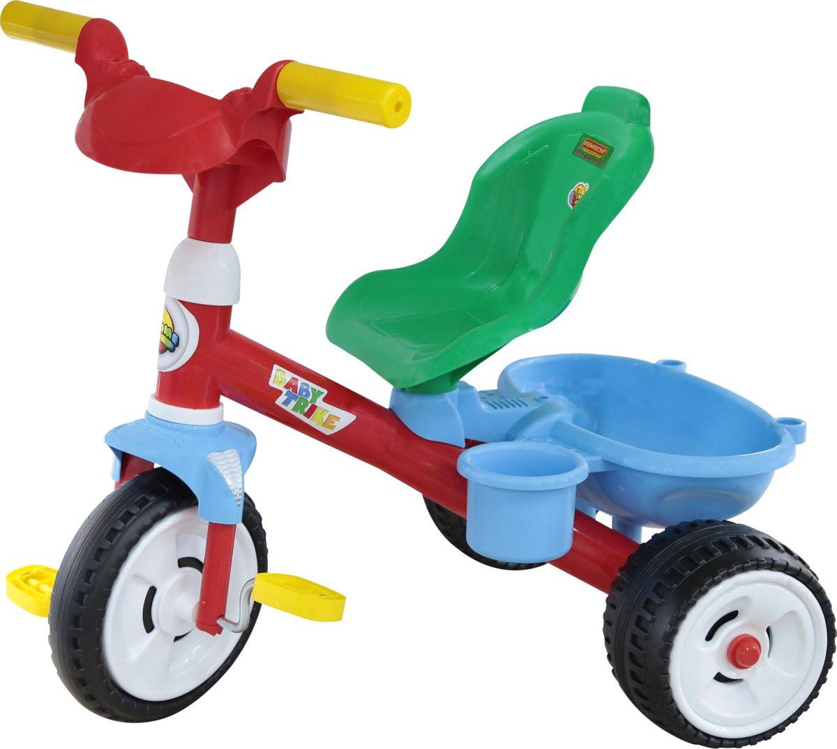 Полесье Велосипед трехколесный Беби Трайк, цвет в ассортименте велосипед eltreco eltreco велогибрид 2018 2018