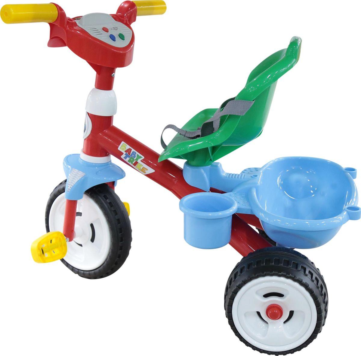 Полесье Велосипед трехколесный Беби Трайк, 46734, цвет в ассортименте
