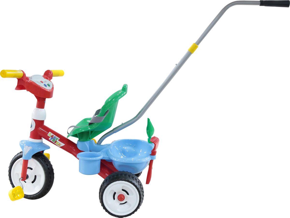 Полесье Велосипед трехколесный Беби Трайк, 46741, цвет в ассортименте ид бурда сабрина беби вязание для малышей 1 2017