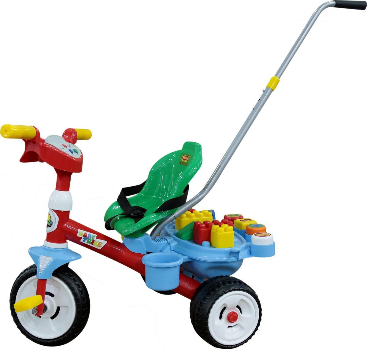 Полесье Велосипед трехколесный Беби Трайк, 46796, цвет в ассортименте ид бурда сабрина беби вязание для малышей 1 2017