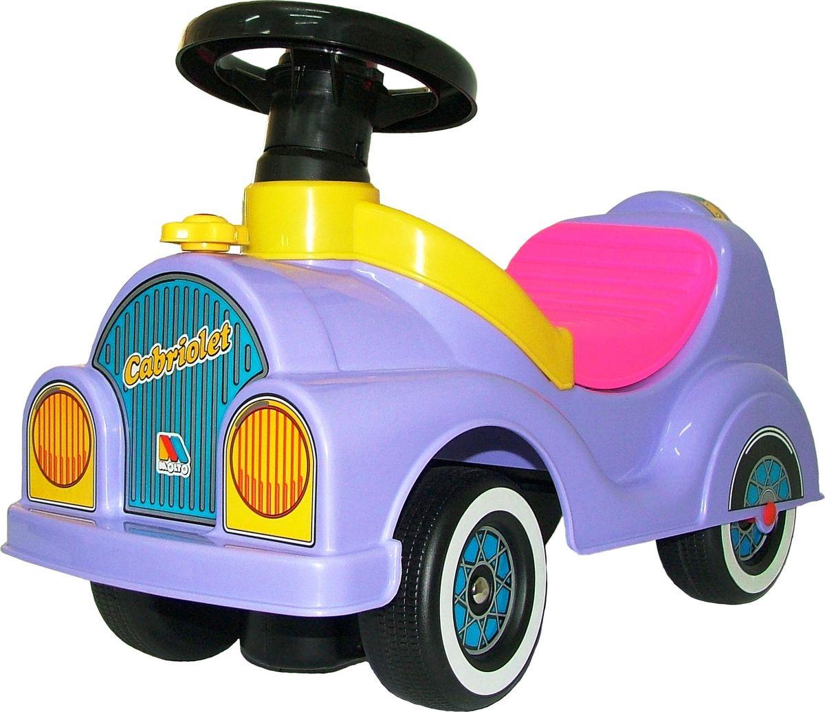 Полесье Каталка Кабриолет, цвет в ассортименте автомобиль пластмастер малютка зефирки цвет в ассортименте 31172