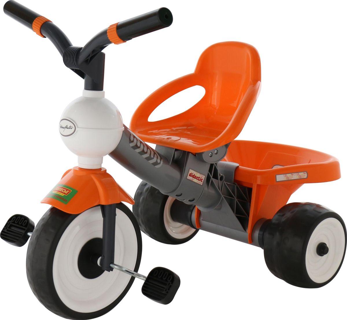 Полесье Велосипед трехколесный Дидактик №2, 46352, цвет в ассортименте