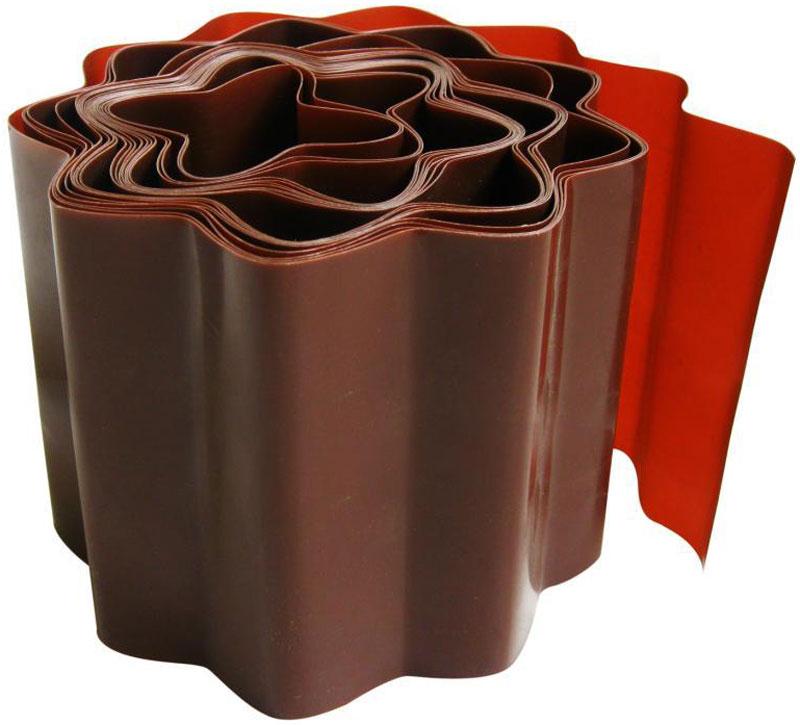 Лента бордюрная Frut, цвет: коричневый, 20 х 900 см лента бордюрная grinda 422245 20