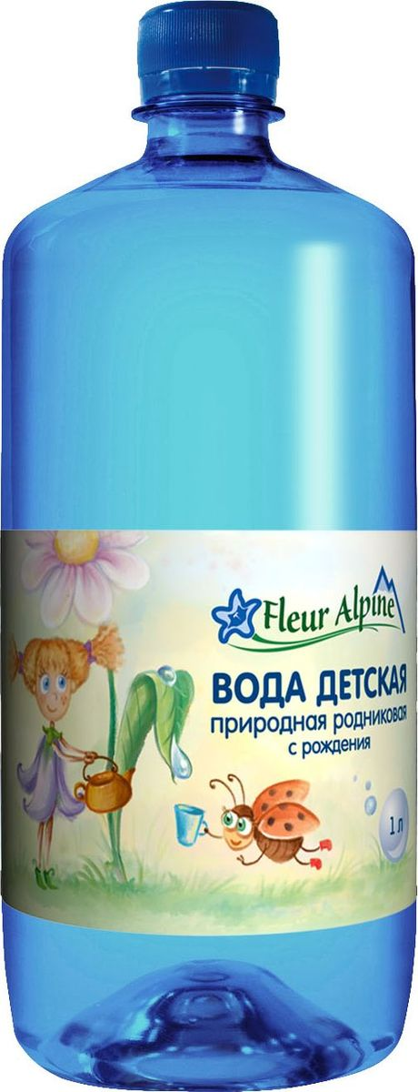 Fleur Alpine Organic вода детская питьевая, с рождения, 1 л