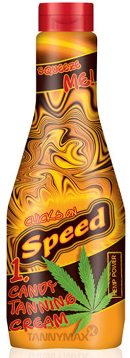 Tannymaxx Турбо-ускоритель для загара Chicks On Speed Candy Tanning Cream, с маслом конопли и натуральными бронзаторами, 300 мл виши масло для загара
