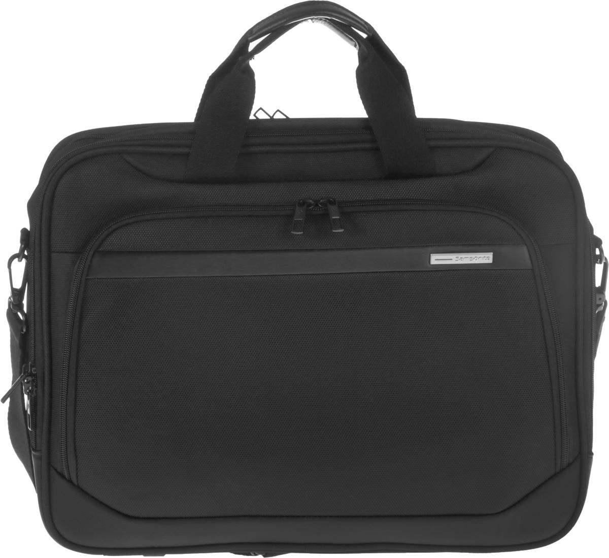 Сумка для ноутбука Samsonite GuardIt, цвет: черный, 43,5 х 33 х 13,5 см сумка для ноутбука samsonite сумка для ноутбука 17 3 vectura 45 5x38 5x13 5 см